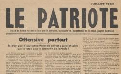 """Accéder à la page """"Patriote (Le) (Sud-Ouest)"""""""