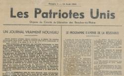 """Accéder à la page """"Patriotes unis (Les) (Bouches-du-Rhône)"""""""