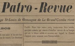 Publicatin disponible de 1919 à1920