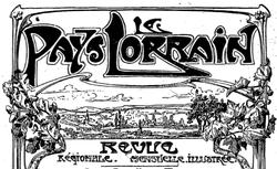 """Accéder à la page """"Pays lorrain (Le)"""""""