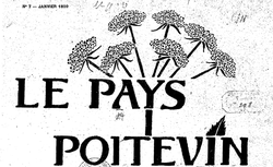 """Accéder à la page """"Pays poitevin (Le)"""""""