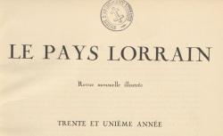 """Accéder à la page """"Reitzenstein, Journal d'un officier prussien, prisonnier de guerre à Nancy (1806-1808)"""""""