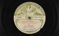 """I pescatori di perle. Romanza di Nadir : """"Recit. """"A quella voce"""" ; Bizet, comp. ; Giuseppe Anselmi, T ; acc. de piano - source : gallica.bnf.fr / BnF"""
