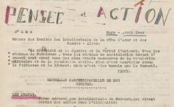 """Accéder à la page """"Pensée et action (Alpes-Maritimes, Basses-Alpes)"""""""