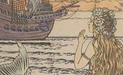 La Petite Sirène, Hans Christian Andersen, illustrée par Ivan Bilibine, 1937