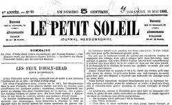 """Accéder à la page """"Petit soleil (Le)"""""""