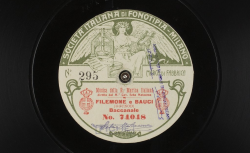 Filemone e Bauci. Baccanale / Charles Gounod, comp. ; Musica della R. Marina Italiana, dir. M.° Cav. Seba Matacena - source : gallica.bnf.fr / BnF
