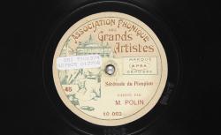 """Accéder à la page """"Sérénade du pioupiou - Polin, autres versions"""""""