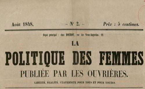 """Accéder à la page """"Politique des femmes (La)"""""""