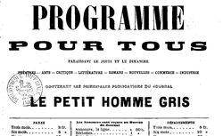 """Accéder à la page """"Programme pour tous"""""""