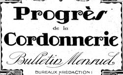 """Accéder à la page """"Progrès de la cordonnerie (Le)"""""""