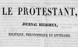 """Accéder à la page """"Protestant (Le)"""""""