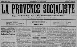 """Accéder à la page """"Provence socialiste (La)"""""""