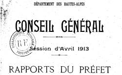 """Accéder à la page """"Rapports et délibérations du Conseil général"""""""