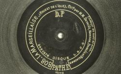 Disque NC Pathé saphir 803/808 - source : BnF/gallica.bnf.fr