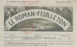 Le Roman feuilleton - journal