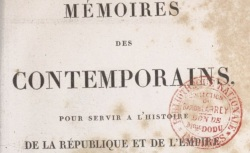 """Accéder à la page """"Rapp, général, Mémoires"""""""