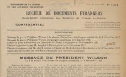"""Accéder à la page """"Recueil de documents étrangers. Supplément aux Bulletins"""""""