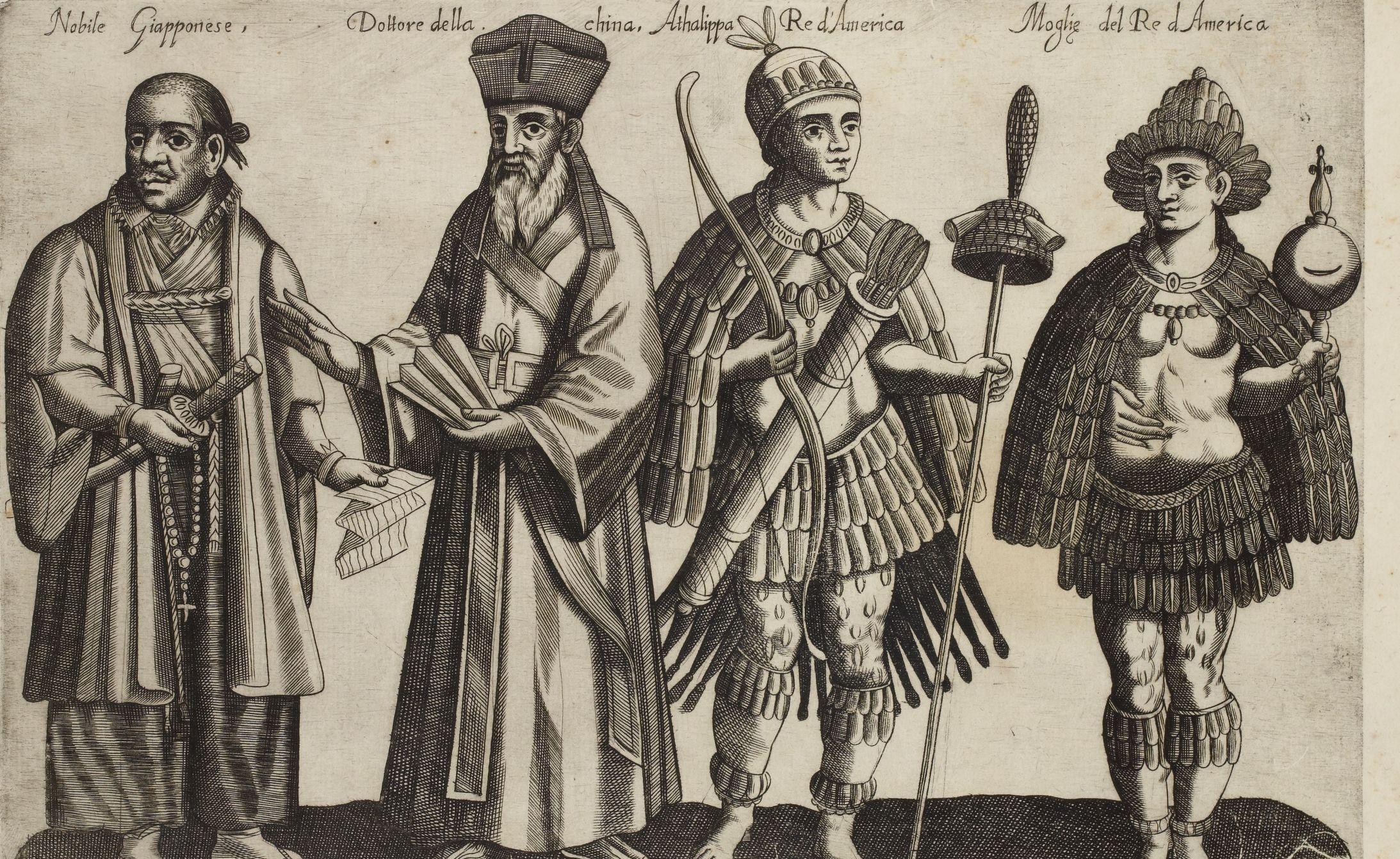 Jean-Jacques Boissard, Recueil de costumes étrangers, 1581 Boissard, Jean-Jacques (1528-1602)