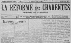 """Accéder à la page """"Réforme des Charentes (La)"""""""