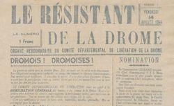"""Accéder à la page """"Résistant de la Drôme (Le)"""""""