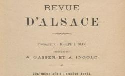 """Accéder à la page """"Latouche, de, Souvenirs d'un habitant de Cernay (1813-1814)"""""""
