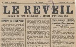 """Accéder à la page """"Réveil d'Oyonnax (Le)"""""""