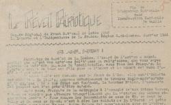 """Accéder à la page """"Réveil patriotique (Le) (Gard, Lozère)"""""""