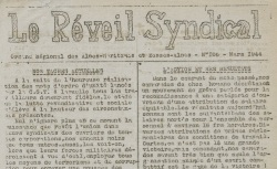"""Accéder à la page """"Réveil syndical (Le) (Alpes-Maritimes et Basses-Alpes)"""""""