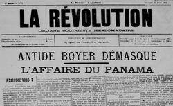"""Accéder à la page """"Révolution (La)"""""""