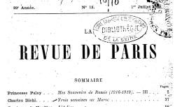 """Accéder à la page """"Bray, François-Gabriel de, Mémoires sur la France en 1803"""""""