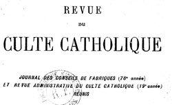 """Accéder à la page """"Revue administrative du culte catholique"""""""