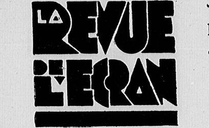 """Accéder à la page """"Revue de l'écran (La)"""""""