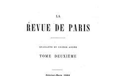 La Revue de Paris
