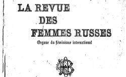 """Accéder à la page """"Revue des femmes russes (La)"""""""