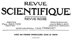 Revue scientifique