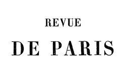 """Accéder à la page """"Revue de Paris"""""""