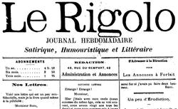 """Accéder à la page """"Rigolo (Le)"""""""