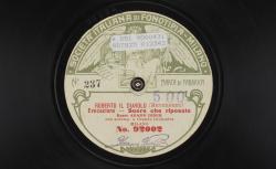 """Roberto il diavolo. Evocazione : """"Suore che riposate"""" ; Giacomo Meyerbeer, comp. ; Adamo Didur, B ; acc. orch. - source : gallica.bnf.fr / BnF"""