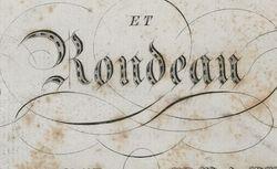 """Accéder à la page """"Rondeau"""""""