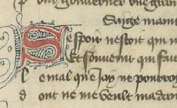 Figure de l'humanisme français: Christine de Pizan a rédigé des poèmes, des traités philosophiques, politiques, et militaires  Rondeaux_fr.12779