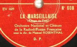 Disque C-3325 - Manuel Rosenthal (1904-2003) est un compositeur et chef d'orchestre français - source : BnF/gallica.bnf.fr