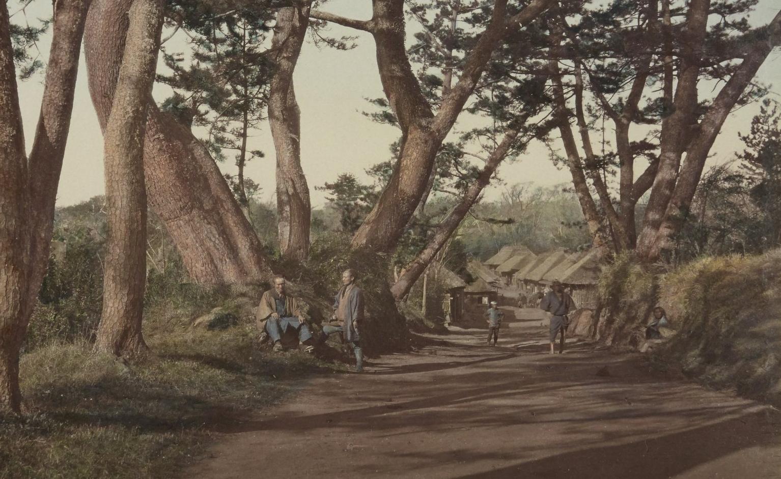 Tokaido / [Raimund von Stillfried ou Felice Beato], [s.d.] - Japonais / Stillfried & Andersen, 1877-1878. SG WD-232 (RES)