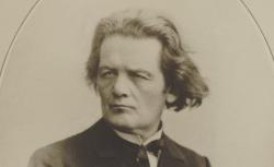 Anton Rubinstein, reprod. d'une photographie, 1900 - source : gallica.bnf.fr / BnF