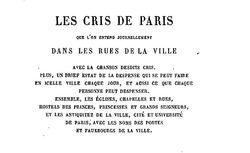 """Accéder à la page """"Paris ridicule et burlesque au dix-septième siècle"""""""