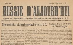 """Accéder à la page """"Russie d'aujourd'hui (Edition d'Auvergne)"""""""