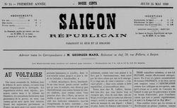 """Accéder à la page """"Saïgon républicain..."""""""