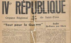 """Accéder à la page """"IVè République (Saint-Fons)"""""""