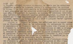 """Accéder à la page """"Bulletin d'information de"""