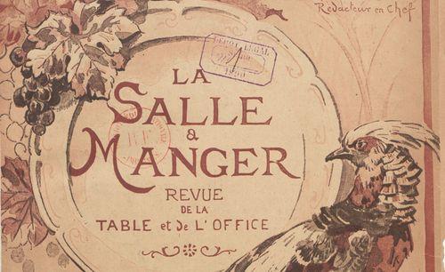 La Salle à manger. Revue de la table et de l'office